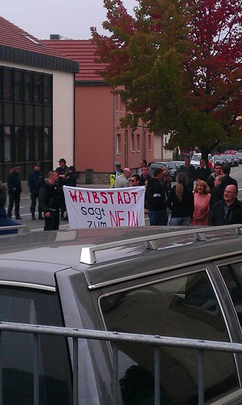 NPD in Waibstadt, 05.10.2014
