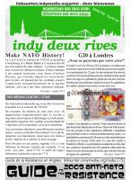 photo de couverture: indy deux rives 2009//04 - francais