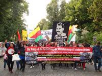 Zweite Demonstration in Kreuzberg