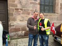 Tobias Steiger und Lutz Bachmann