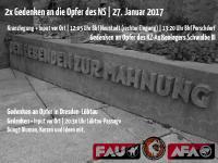 Aufruf zum 27. Januar Gedenken 2017