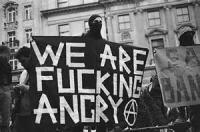 We are fucking angry