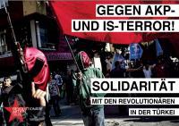 Gegen AKP und IS-Terror