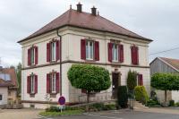 Wohnhaus von Marc Scholer in der 6 rue de l'église in Brinckheim, gleichzeitig Mairie von Brinckheim