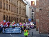 """Demonstration """"Fluchtursachen bekämpfen"""" 1"""