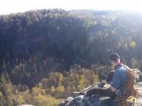 Gedenken an den 8. Mai mit SRB-Kletteraktion