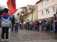 Solidarität mit Kobanê - Kundgebung in Schwenningen