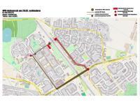 Karte zum Naziaufmarsch in Hohenschönhausen am 29.02.2016