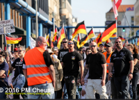 Nazis am 7. Mai 2016 in Berlin