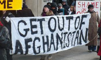 get out of Afghanistan