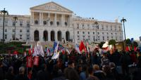 November 2011, Austerity Protest in Lisbon, Portugal