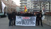 Die südbadischen Nazis am 27. Februar 2016 in Karlsruhe
