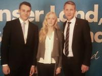Viktor Erdesz, Alina Spiegel, Björn Höcke