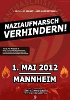 Naziaufmarsch verhindern! 1. Mai Mannheim