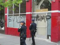 Evict Trump! (Graffity in Mission)