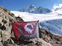 Flagge zeigen in den Alpen