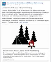 AfD zum Antifa-Camp im Schwarzwald
